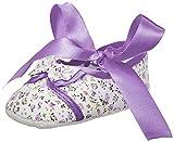 Mee Mee Baby Girl's Purple Cotton Booties - 6-9 Months