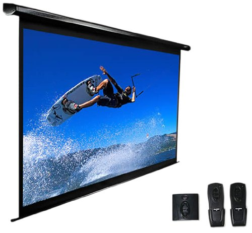 "Elite Screens Vmax100Uwv2 Vmax2 Electric Projector Screen (100 Inch Diagonal 4:3 Ratio 60""Hx80""W)"