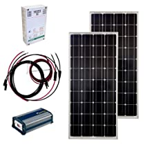Hot Sale Grape Solar GS-200-KIT 200-Watt Off-Grid Solar Panel Kit