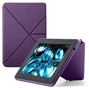 Amazon Kindle Fire HD Standing Origami Case (3rd Generation - 2013 release), Royal