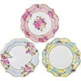 Talking Tables Medium Truly Scrumptious Plate, Pack of 12