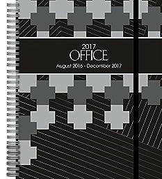 Wells Street by Lang Office Deluxe Planner, 17 Month Calendar August 2016-December 2017 (17997061028)