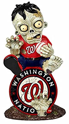 MLB Washington Nationals Sitting on Logo Zombie, Red