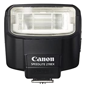 Canon Speedlite 270EX Flash for Canon Digital SLR Cameras