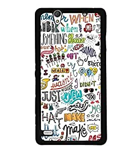 SONY XPERIA C-4 BACK COVER CASE BY instyler