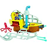 Fisher-Price Jake and The Never Land Pirates - Submarine Bucky's Never Sea Adventure