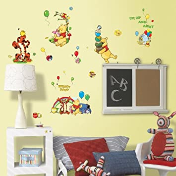 Beautiful Disney Winnie the Pooh Bother Free Day Wall Stickers