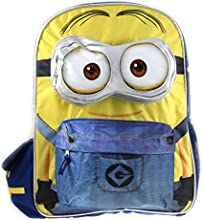 Despicable ME Minions 3D 16quot Large School Cargo Backpack For Kids