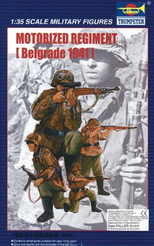 Trumpeter Motorized Regiment Belgrade 1941 Kit