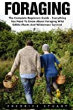 Foraging: The Complete Beginners Guide - Everything You Need To Know About Foraging Wild Edible Plants And Wilderness Survival! (Wilderness Survival, Foraging Guide, Wildcrafting)