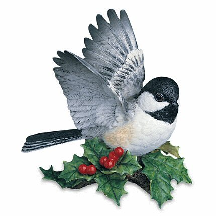 LENOX CHICKADEE BIRD FIGURINE PORCELAIN