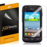 [6-Pack] SUPERSHIELDZ- High Definition Clear Screen Protector For Samsung Galaxy Rugby Pro i547 + Lifetime Replacements Warranty [6 Pack] - Retail Packaging ...