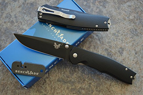 Benchmade 890BK Assisted Opening Knife w/ Free Benchmade Mini Sharpener