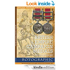 British & Empire Campaign Medals - Volume 1: 1793 to 1902 (British & Irish/Empire Campaign Medals)