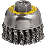 DEWALT DW49155  4-Inch by 5/8-Inch-11 XP .014 Stainless Crimp Wire Cup Brush