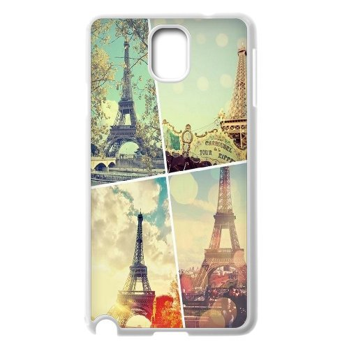 Samsung Galaxy Note 3 N9000 Eiffel Tower Phone Back Case Personalized Art Print Design Hard Shell Protection Aq085987