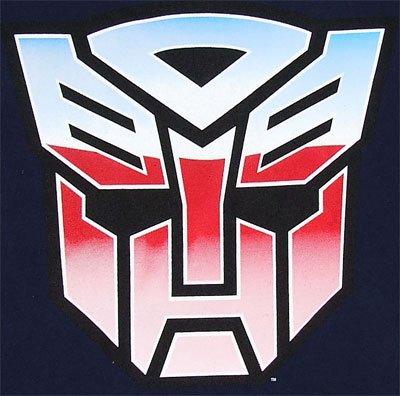 12836 变形金刚tシャツ transformers big autobot logo