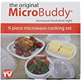 Microwave Cooking Set - 9 Piece Set by MicroBuddy