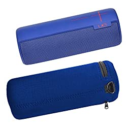 Pashion UE MEGA BOOM Wireless Bluetooth Speaker Water-Resistant Lycra Zipper Carrying Case Bag Cover
