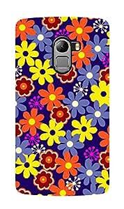 ZAPCASE Printed Back Case for LENOVO K4 NOTE - Multicolor