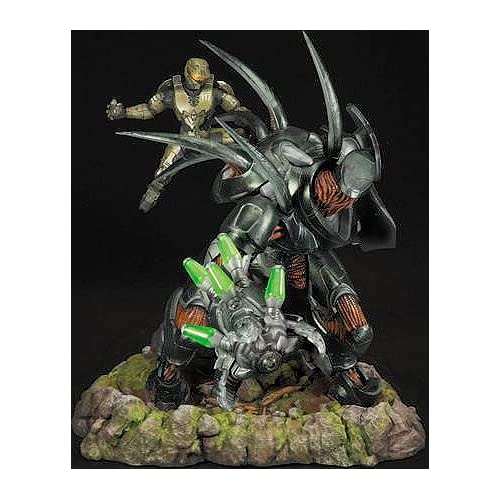 Amazon.com: Halo 4 McFarlane Toys Limited Edition STATUE Forward Unto