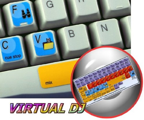 Virtual Dj Keyboard Stickers