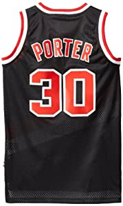NBA Portland Trailblazers Red Swingman Jersey Terry Porter #30 by adidas
