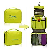 Greenery Spacious Multi Pocket Waterproof Travel Storage Bag Organizer Makeup Comestic Bag In Bag Large Capacity...