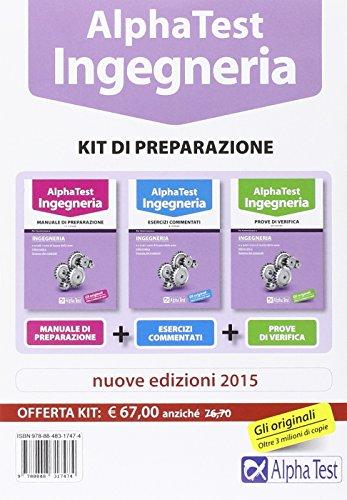 Alpha Test Ingegneria Kit di preparazione Con software di simulazione PDF