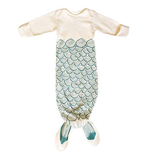 Baby Ultralight Sleep Sack Long Sleeve Funny Mermaid Tail& Shark Sleeping Bags (S(0-1Y), White) (Shark Sack compare prices)