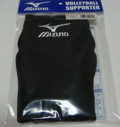 ミズノ ジュニア用ニーサポータ(2個1組セット) (ブラック)