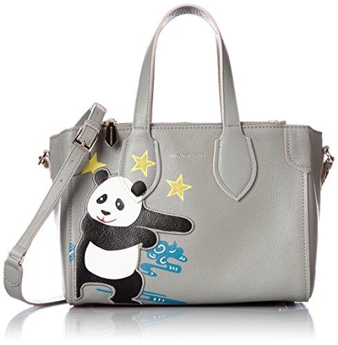 [ケイタマルヤマ] KEITA MARUYAMA PANDA 2WAYトートバッグ(玉乗りパンダ) 370160 20 (グレー)