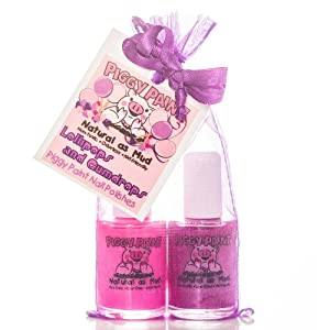 Piggy Paint LOLLIPOPS AND GUMDROPS (2PK) - Jazz It Up and Girls Rule Paired Up for a Great Combo!
