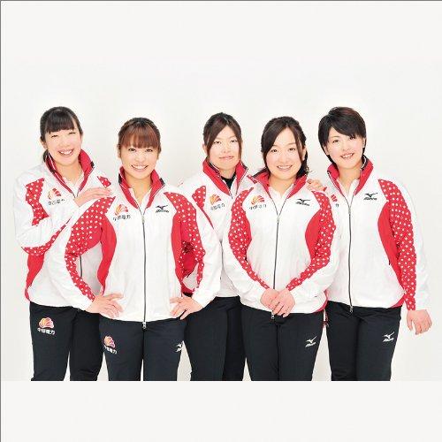 JAPANカーリングガールズ カレンダー 2014年