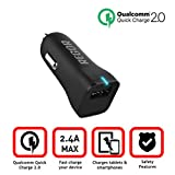 [Qualcomm Certified Original F75299 IC From Taiwan] Regor Quick Charge 2.0 18W USB Car Charger For Samsung Galaxy...