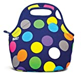 BUILT Gourmet Getaway Lunch Tote, Scatter Dot