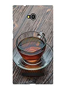 TREECASE Designer Printed Soft silicone Back Case Cover For Lava Flair Z1