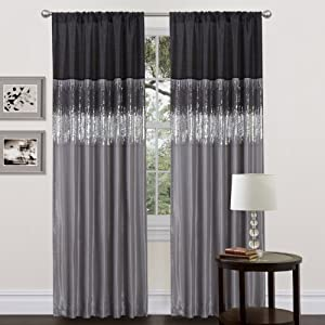 Black And Red Kitchen Curtains Black and Taupe Kitchen Curtains