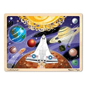 Amazon.com: Melissa & Doug Space Voyage Jigsaw 48 Piece: Toys & Games