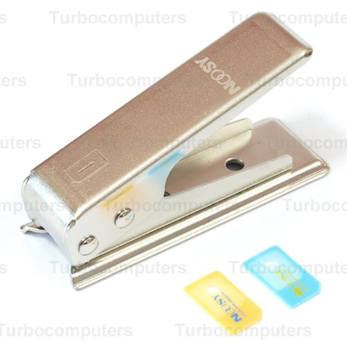 Micro SIM Cutter, Converter with 2 SIM adapters