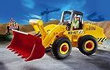 Playmobil PLL3934 Jeu de construction Brique Playmobil Ouvrier Bull Chargeur