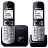 =>  Panasonic KX-TG6812EB Twin DECT Cordless Telephone Set