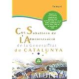 Cos Subaltern De L'Administració De La Generalitat De Catalunya. Temari