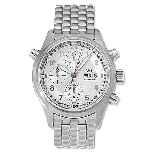 IWC Men's IW371348 Pilot's Double Chrono Spitfire Watch