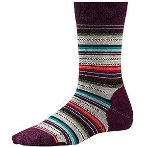Smartwool Margarita Lifestyle Socks, Aub Heather, Small