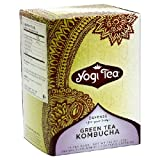 Green Tea With Kombucha - 16 - Bag