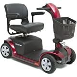 Pride Mobility Victory 9 4-Wheel Scooter - Blue - S709