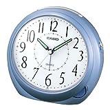 CASIO(カシオ) アナログ目覚まし時計 スタンダードタイプ メタリックブルーTQ-512-2JF
