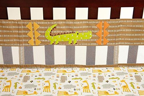 NoJo Zoobilee Crib Liner
