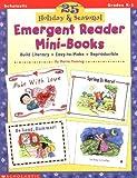 25 Holiday & Seasonal Emergent Reader Mini-Books (Grades K-1)
